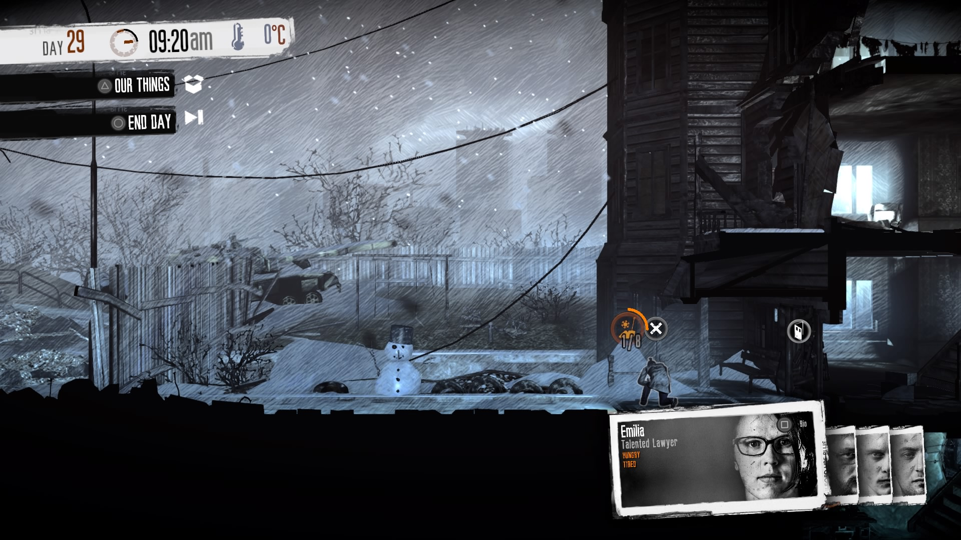 the little ones, this war of mine