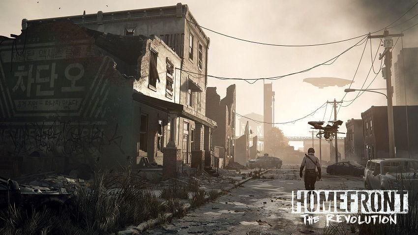 Revolution, Homefront