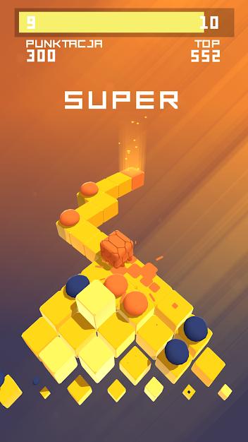 Splashy Cube Orbital Knight gry na komórkę