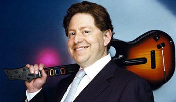 Prezes Activision... z gitarą