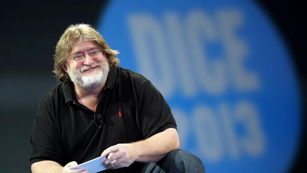 Gabe Newell tonieBobby Kotick - aleniejest Twoim kumplem