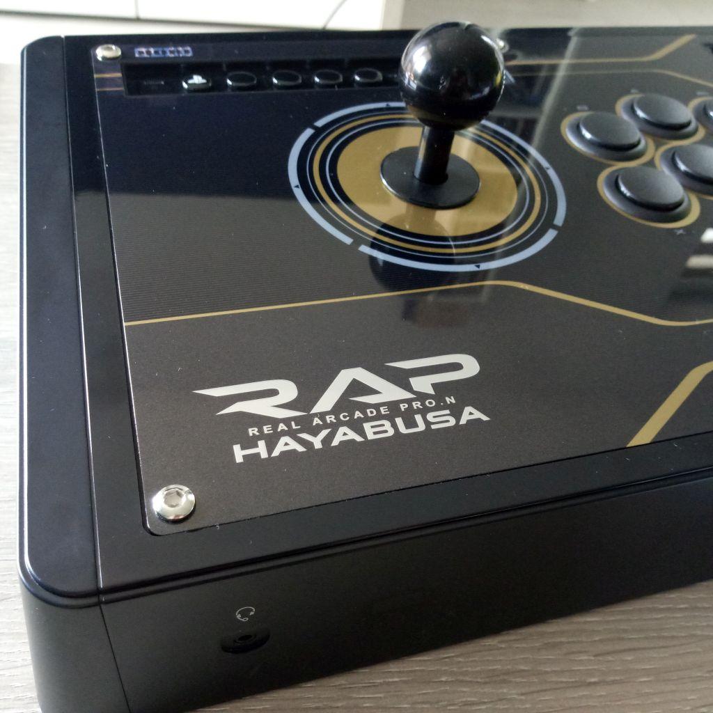 Test HORI Real Arcade Pro. N Hayabusa