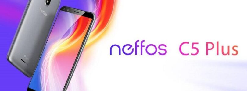 Test Neffos C5 Plus