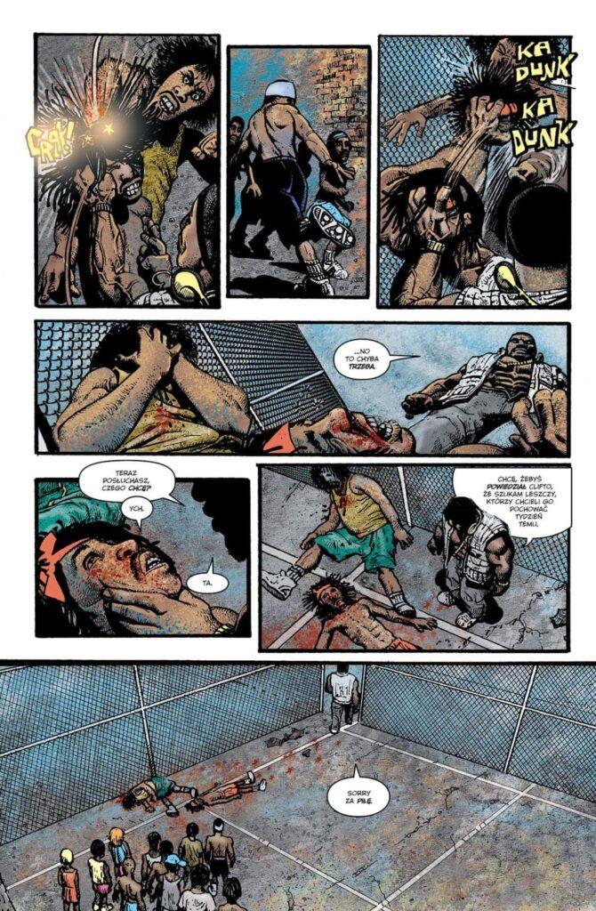 Komiks Cage recenzja