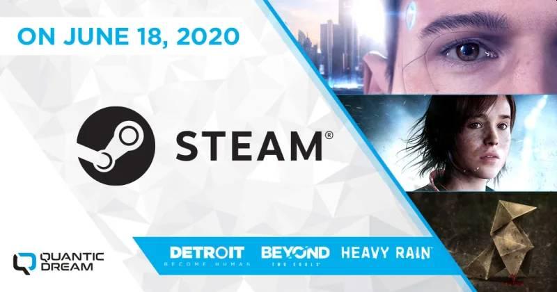 Quantic Dream zawta naSteam
