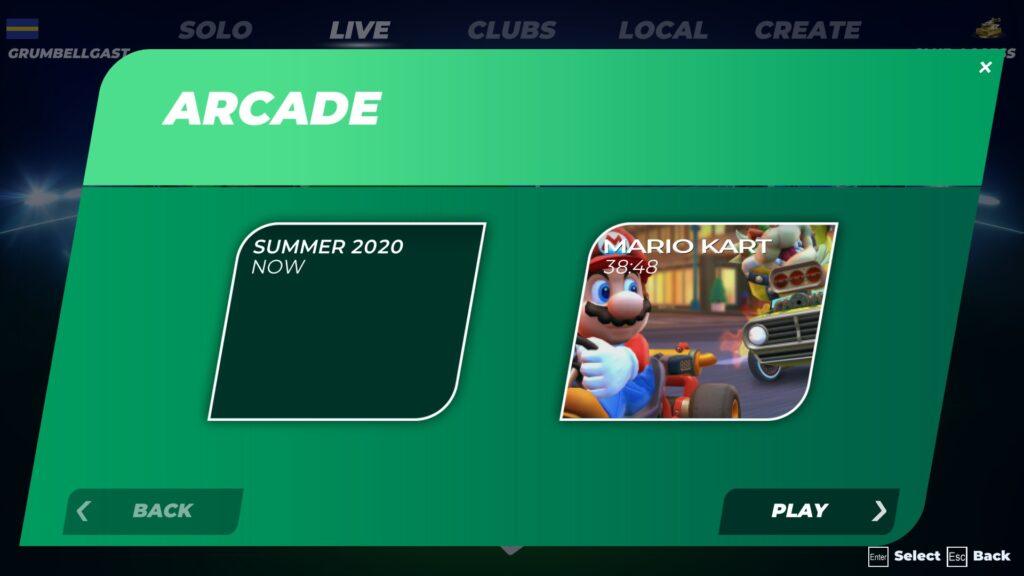 TrackMania ma brzydkie, toporne, niewygodne menu