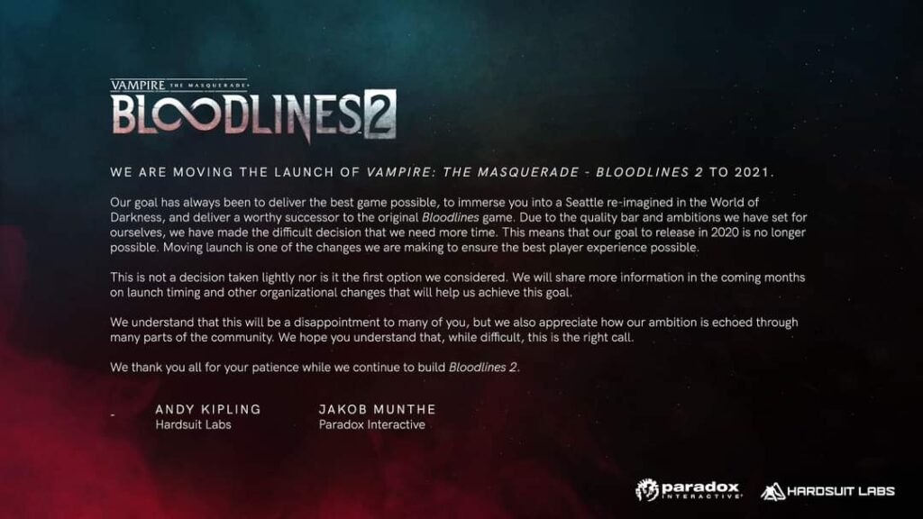 bloodlines 2 obsuwa