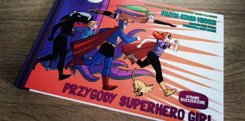 Przygody Superhero Girl recenzja komiksu