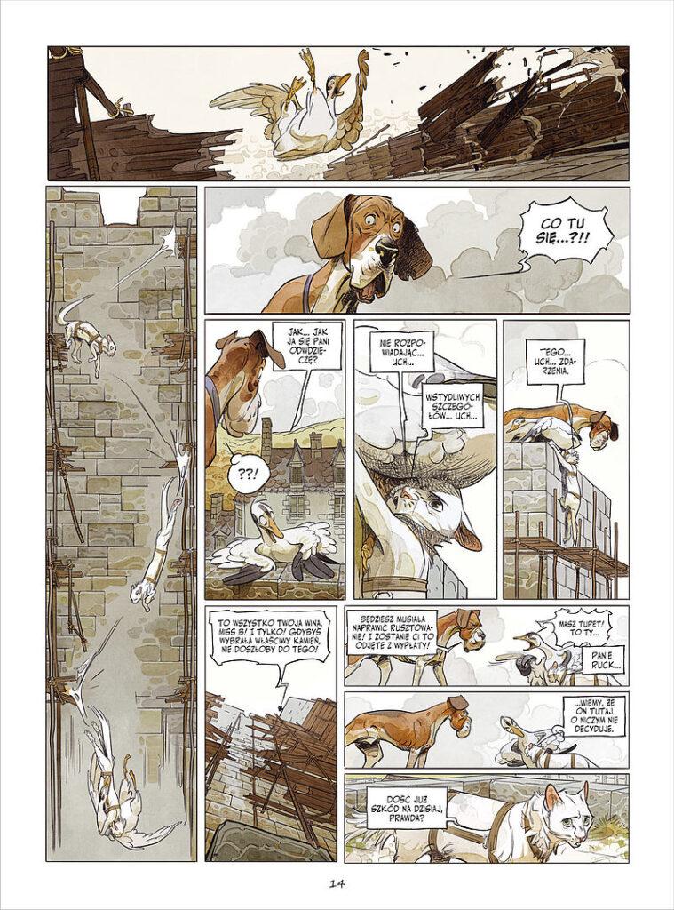 Komiks Zamek zwierzęcy