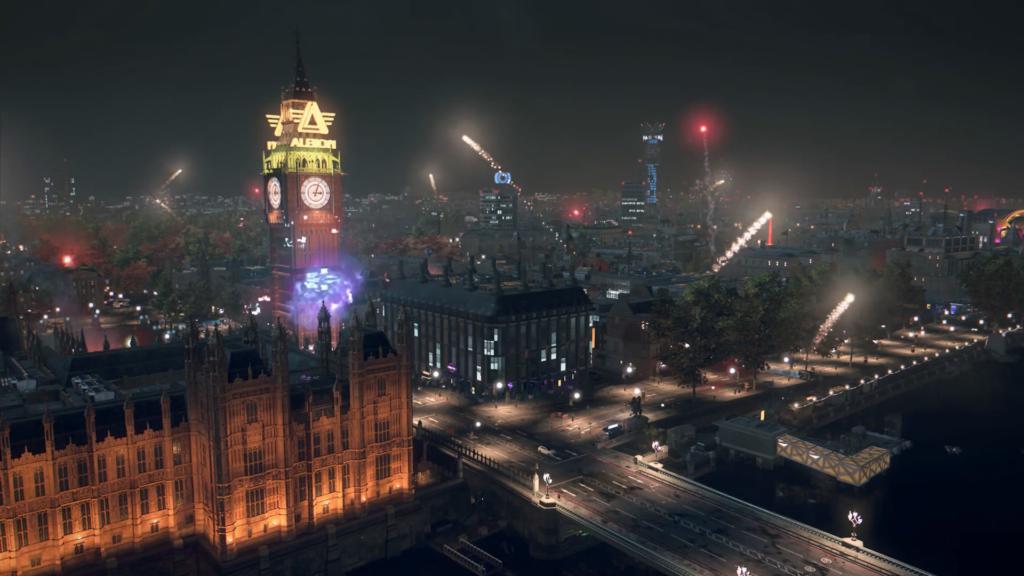 Londyn wLegion jest imponujący, alepodwzględem wizualnym - wizja świata zawodzi