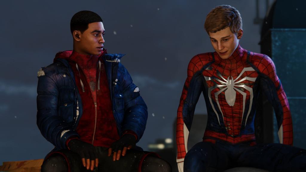 Po prostu dwóch Spider-Manów. Tonic takiego.