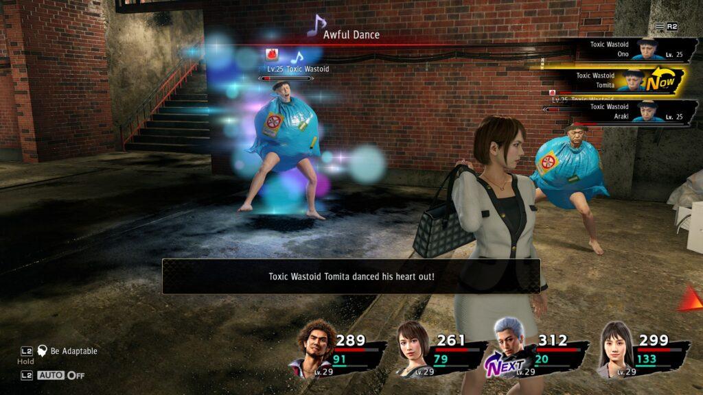 Yakuza jest rasową - bardzo udaną - grą jRPG