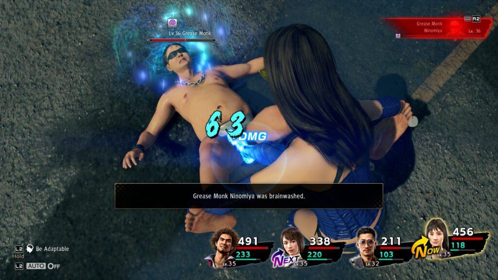 Na obrazku Yakuza: Like aDragon miażdży obawy owalkę jRPG