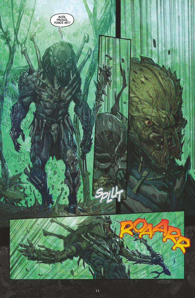 komiks Predator: Łowcy