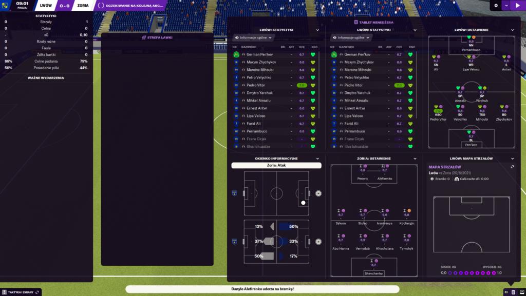 ekran meczu fm
