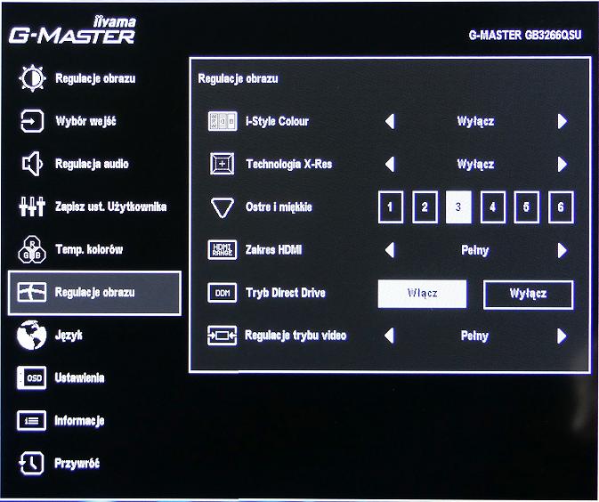 gmaster menu