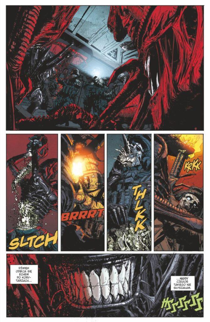 Komiks Aliens: Bunt