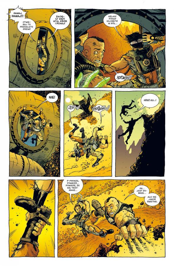 Komiks Fear Agent 3