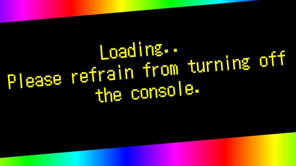 ...ekran wczytywania gry....